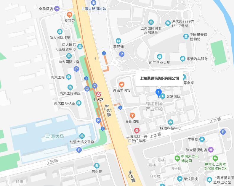 上海市真华路999弄189号